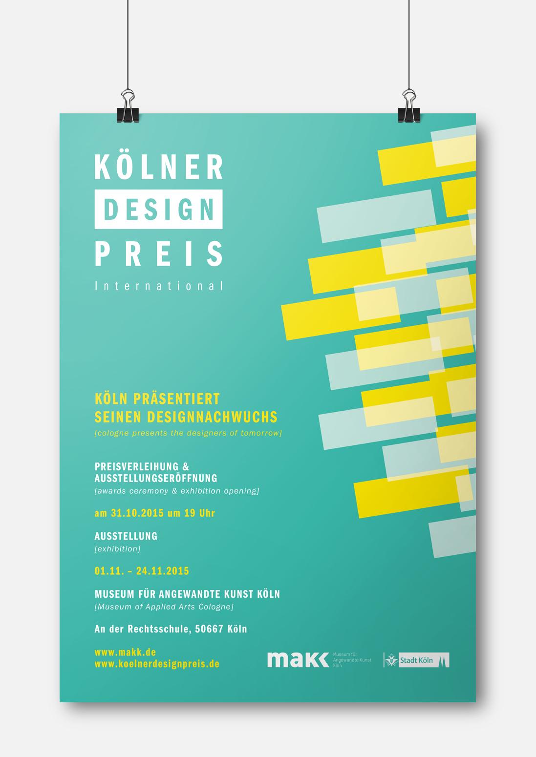 Kölner Design Preis – Poster