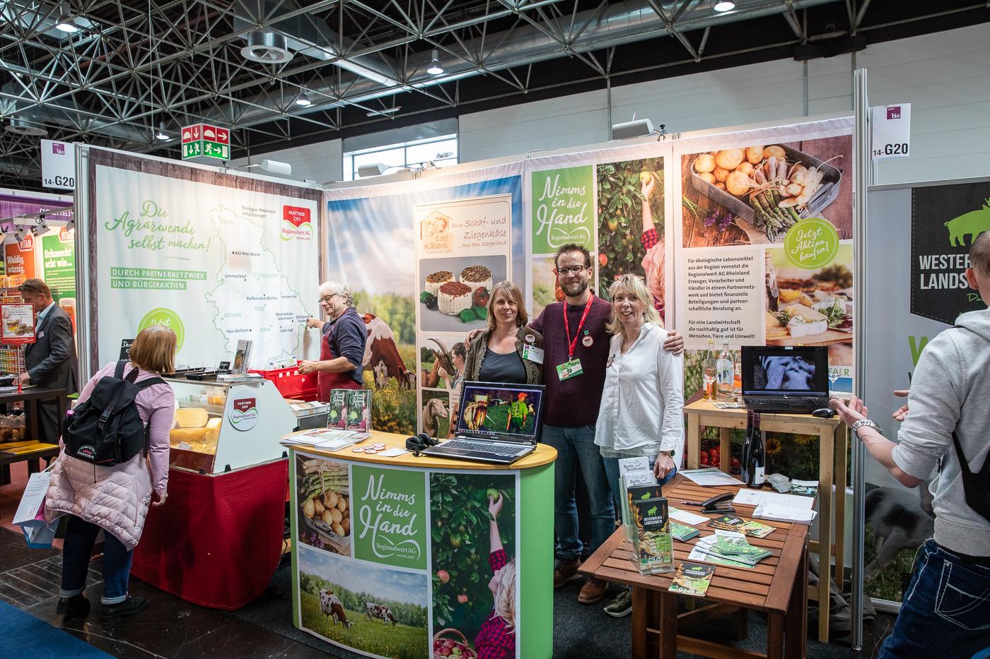 Regionalwert AG – Messebanner