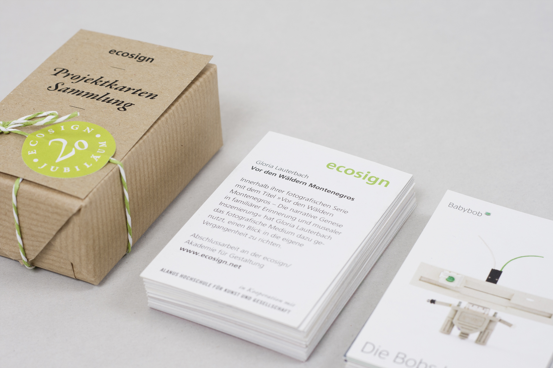 ecosign – Projektkartensammlung