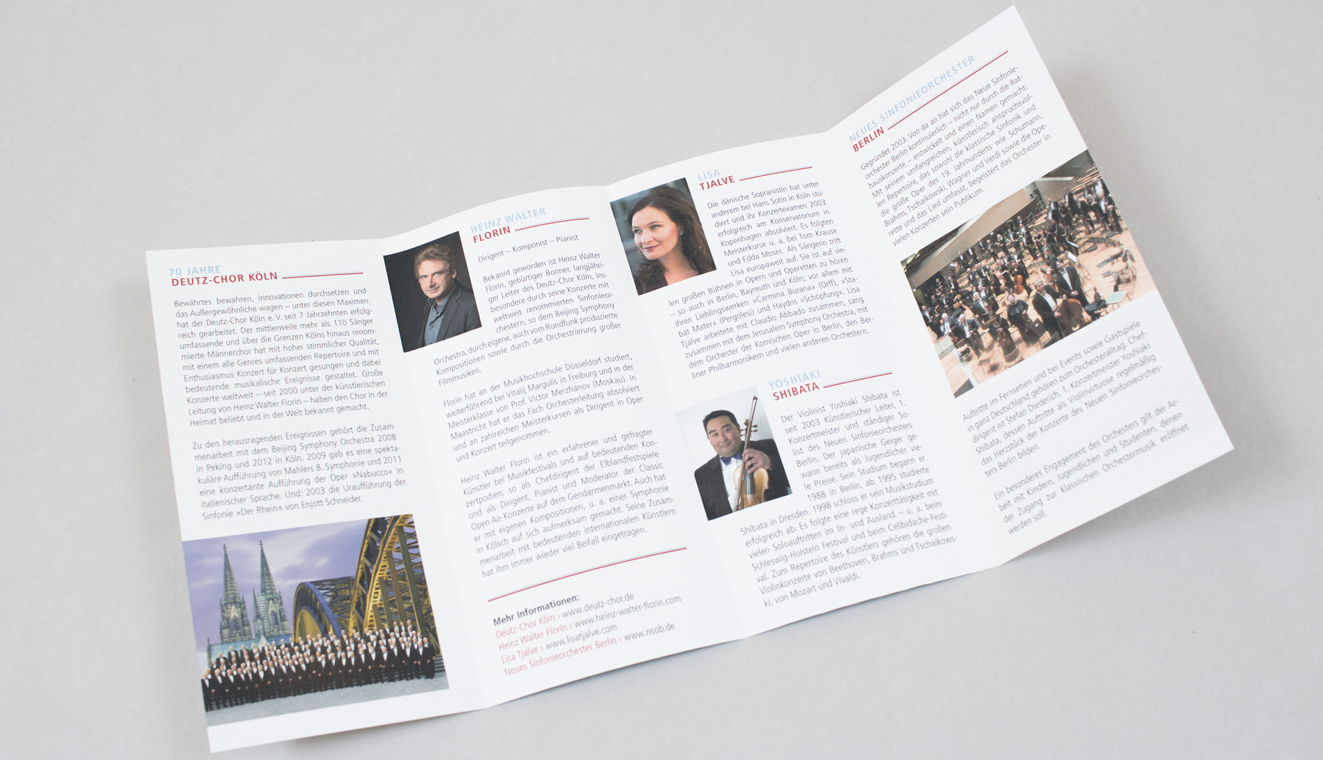 Deutz Chor – Flyer Konzert
