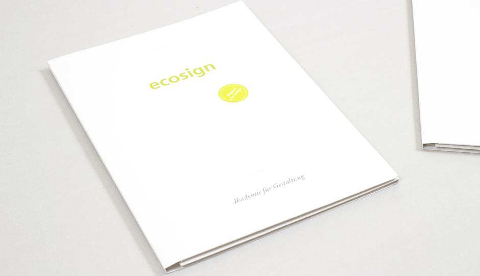 ecosign – Bewerberinformationen