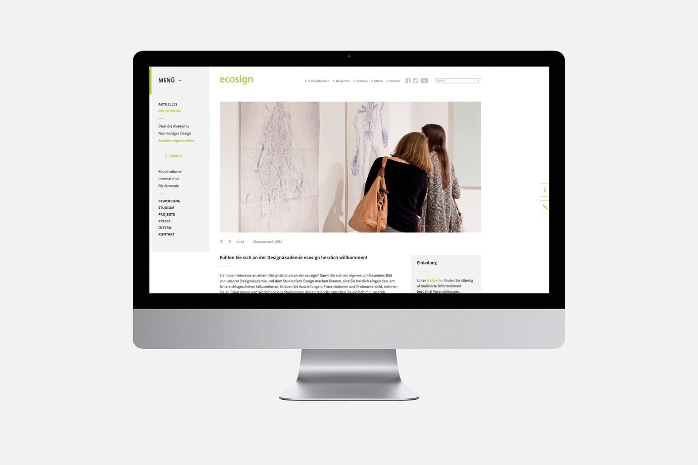 ecosign – Website