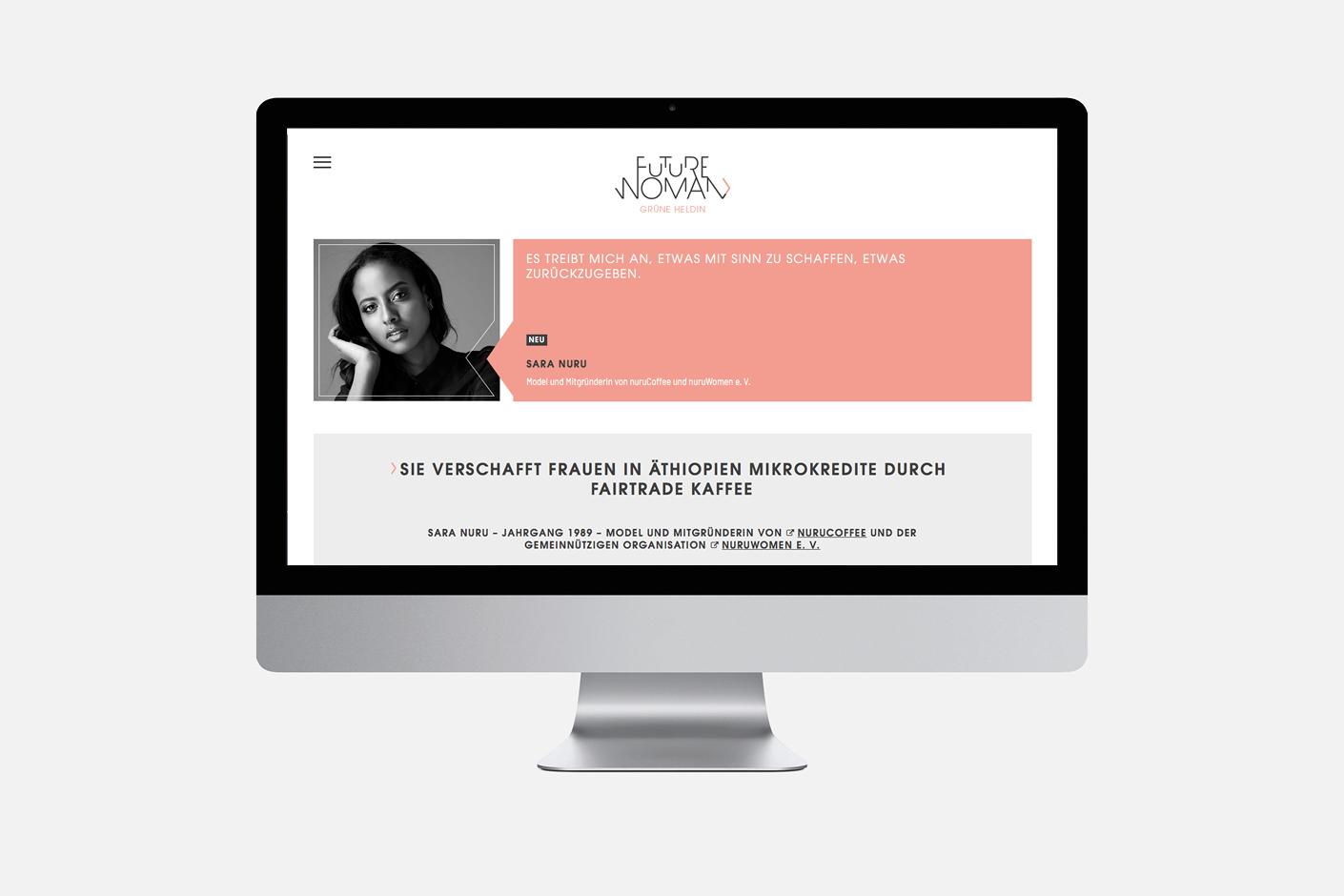 Futurewoman – Website
