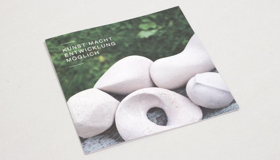 Katrin Sauerland Kunsttherapie – Flyer