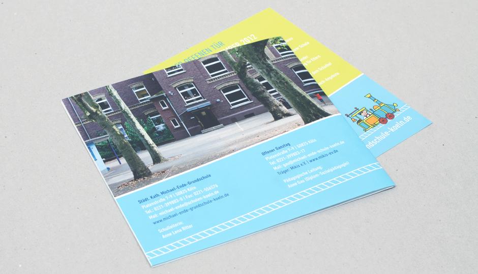 Michael-Ende-Grundschule – Flyer