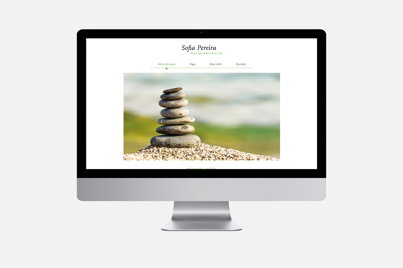 Yoga Sofia Pereira – Website