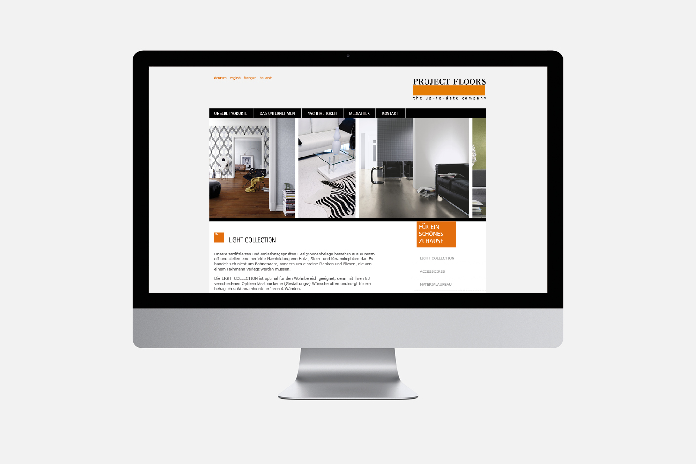 Project Floors – Website