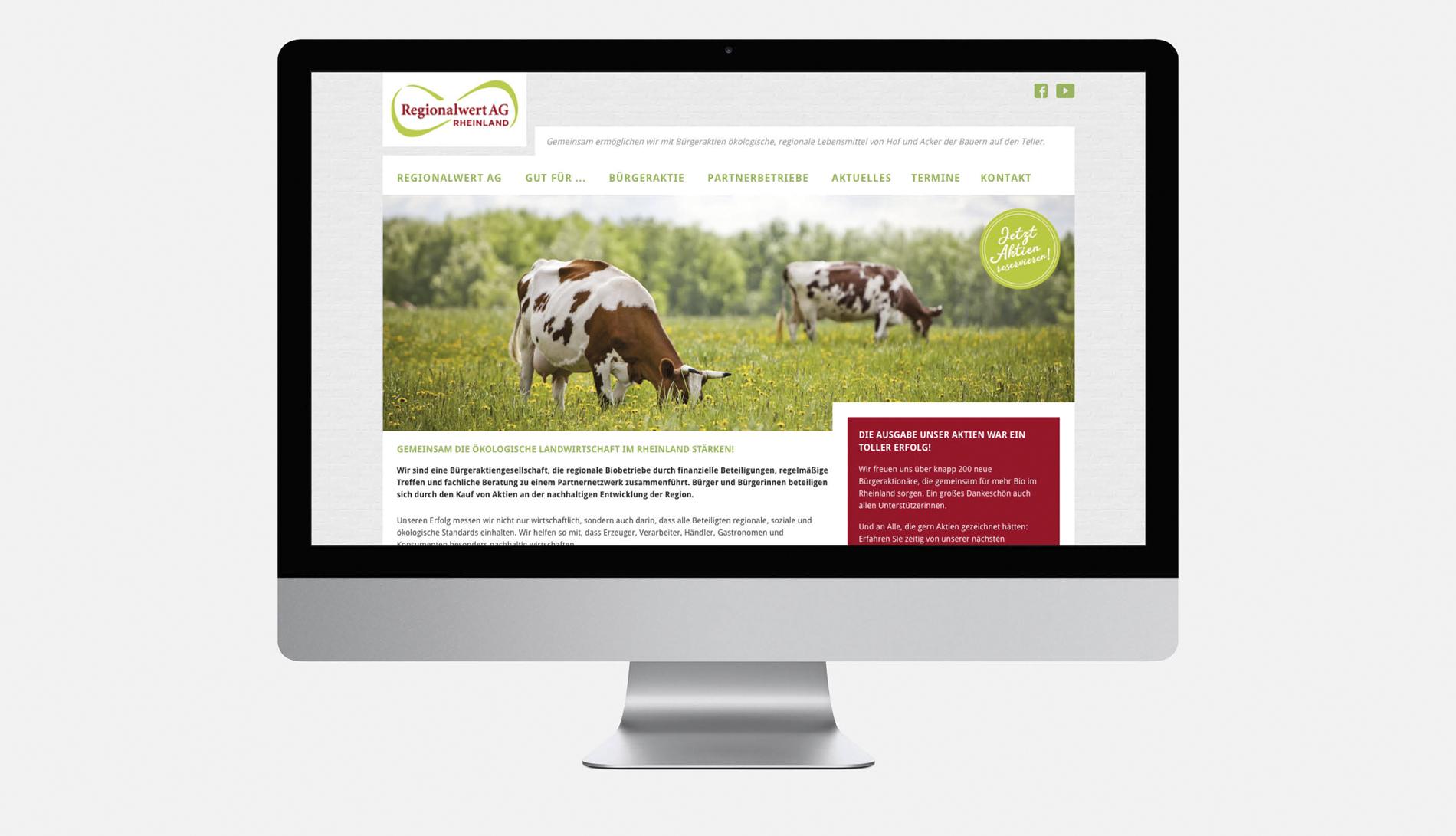 Regionalwert AG – Website