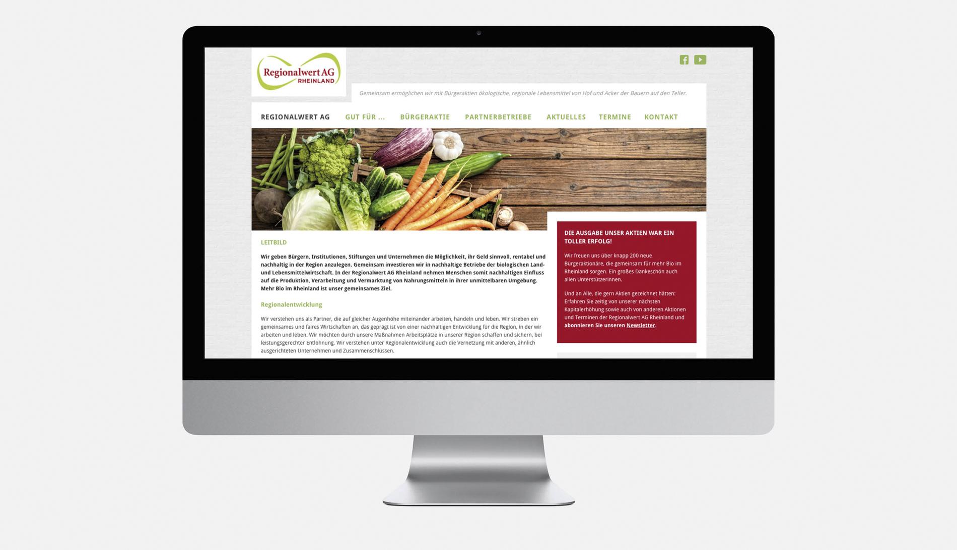 regionalwertAG_16Regionalwert AG – Website