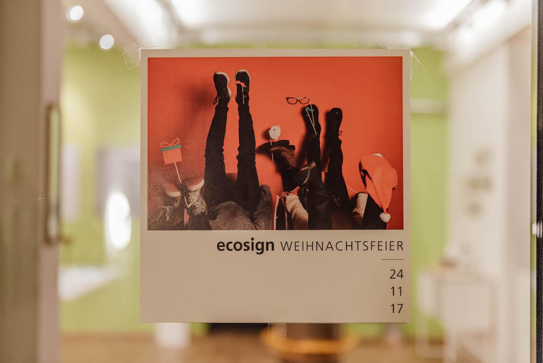 ecosign – Weihnachtsfeier