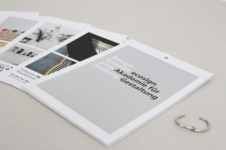ecosign – Ausstellungskatalog