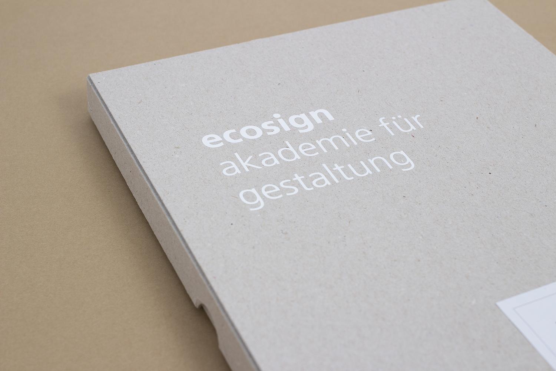 ecosign – Bewerbermaterial